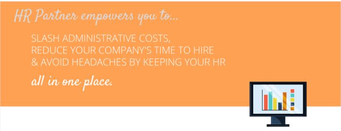HRPartners orange banner