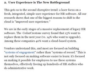 User experience is the new battleground